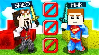 MWK vs SHEO - 1 VS 1 na BEDWARS w MINECRAFT!