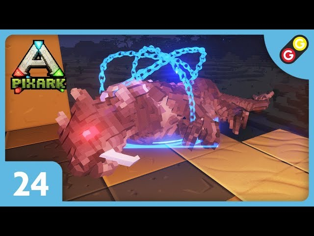 PixARK - Let's Play #24 On tame un gros chat ! [FR]