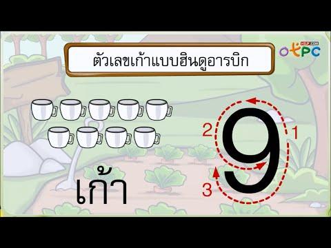 สื่อการเรียน คณิตศาสตร์ ป.1 - จำนวน 8 และจำนวน 9 (17)