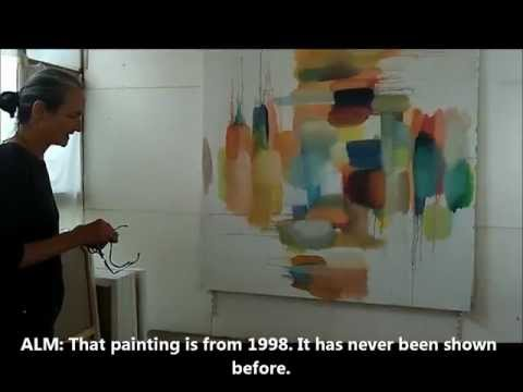 be-Art Vision visits the studio of French painter Alix LE MELEDER