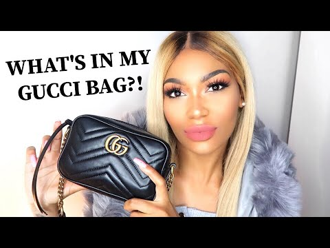 WHAT'S IN MY BAG! | GUCCI MARMONT | RENÉE LEE ROSE