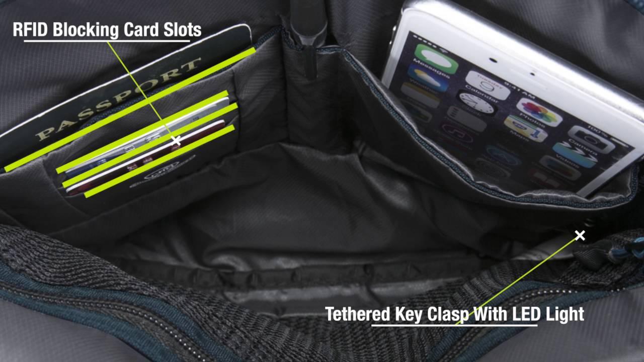 Travelon Anti-Theft Active Small Crossbody Bag - on eBags.com - YouTube 1d487fb9f59b6