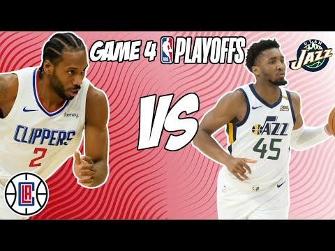 Los Angeles Clippers vs Utah Jazz Game 4 6/14/21 NBA Playoff Free NBA Pick & Prediction