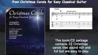 We Wish You a Merry Christmas (easy classical guitar)