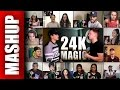 Bruno Mars - 24K Magic (Sing Off vs Alex Aiono) Reactions Mashup