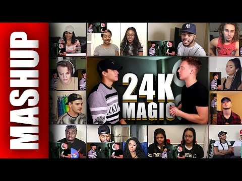 Bruno Mars - 24K Magic (Sing Off vs Alex...