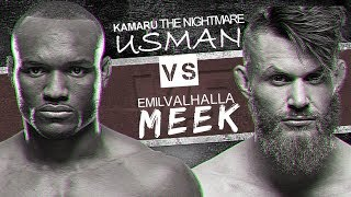 KAMARU USMAN VS EMIL MEEK (HD) PROMO, UFC ST. LOUIS, MMA, VALHALLA VS THE NIGERIAN NIGHTMARE