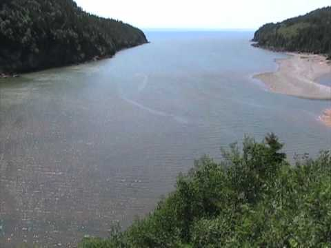 Bay Of Fundy Tide, Time-lapse, Fundy National Park