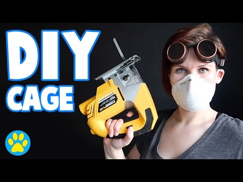 Building The Bunsen   DIY Hamster Cage 1069sq inches [2/3]