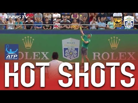 Hot Shot: Johnson Nails Overhead Winner From Back Wall vs. Kyrgios Shanghai 2017