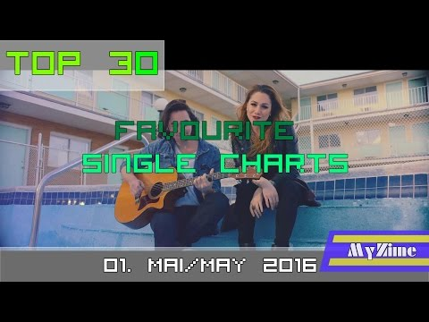 Top 30 Single Charts Mai/May 2016