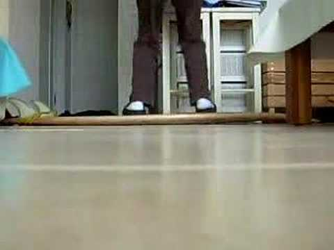 6'6 compsand shortboard flex upside down