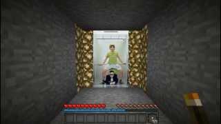 Repeat youtube video Reupload: Minecraft Gangnam style Steve i jego kumpel Ocelot [Parody]