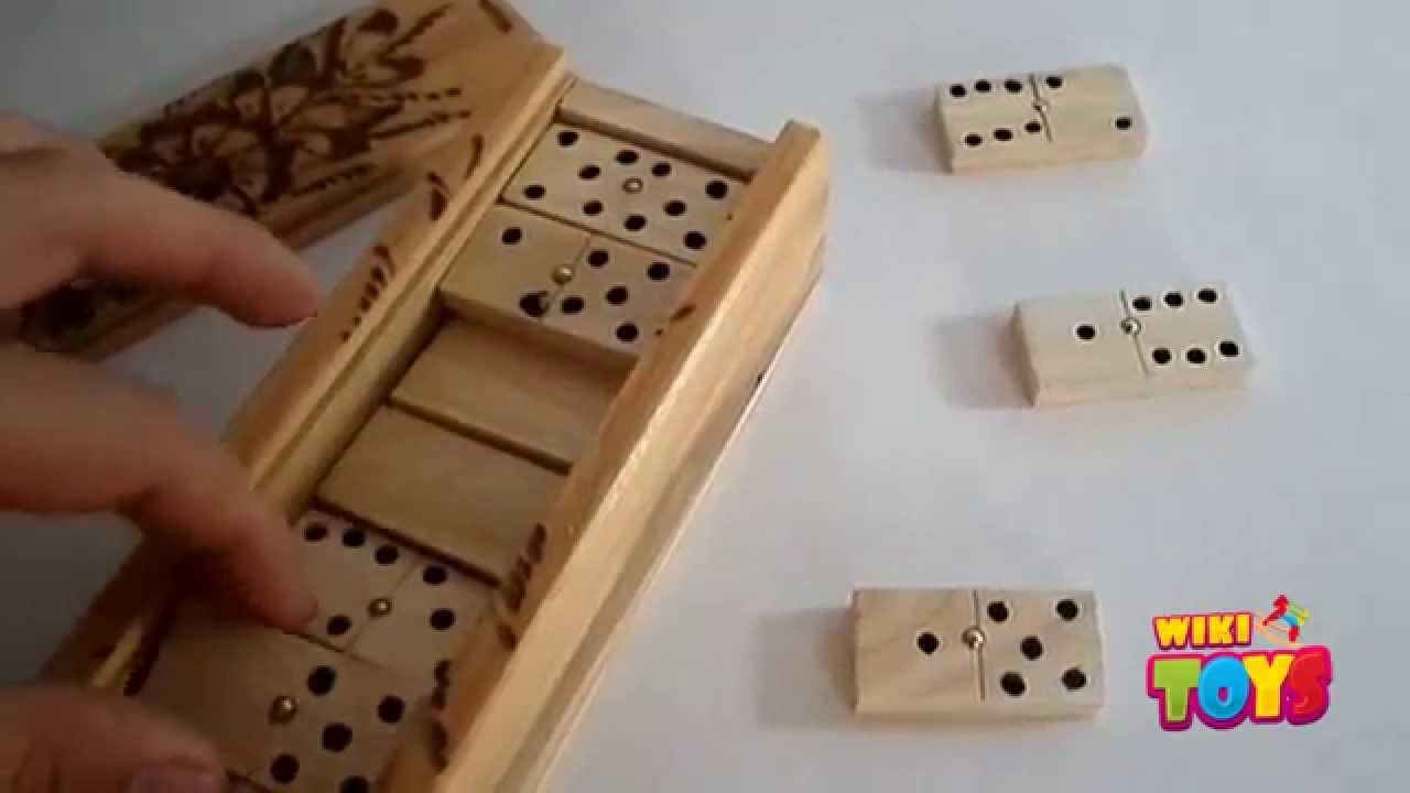 Fant stico domin de madera wikitoys mx youtube for Fichas de domino