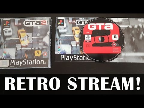 Let's Play GTA 2 on original hardware! - Live PS1 gameplay