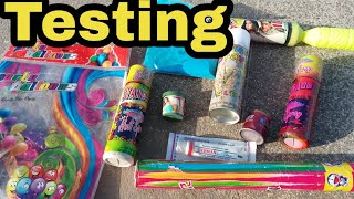 Testing All items |Holi items Testing |Holi Stash Testing |Testing Stash |Special Testing For Holi