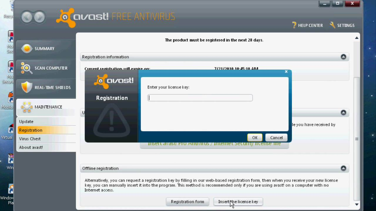 Avast! 18.6.2349 Free Antivirus Hack {2018 - 2038} - No