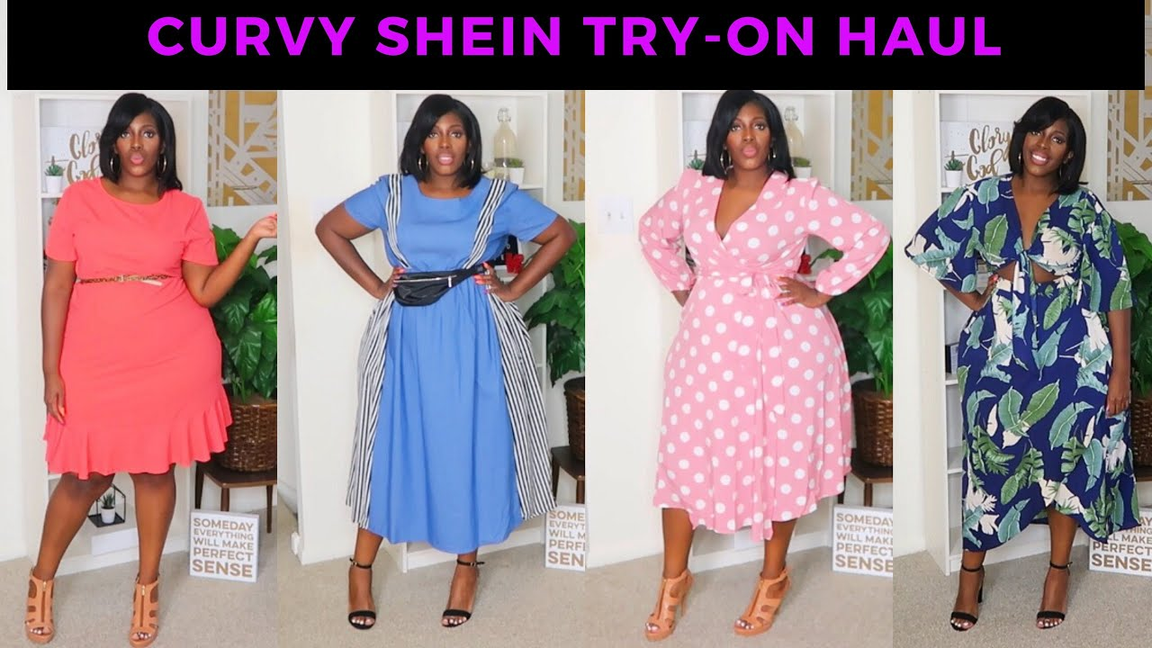 d6ad2916d60a JUNE 2019 CURVY SHEIN TRY-ON HAUL + GIVEAWAY INFORMATION! - YouTube