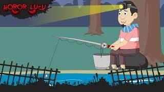Memancing Ikan#Pocong Lari#Kuntilanak Kecebur#Horor Lucu Episode 11