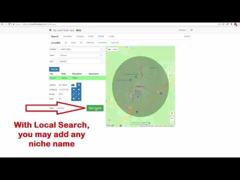 Lead Finder Jack   Cloud   Search   Local Biz