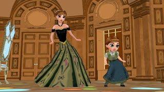 Princess Anna & Young Anna (OlafVids Dancing Series) - Frozen Princess Parody