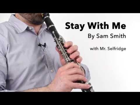 Stay With Me (Sam Smith) for Clarinet
