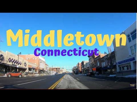 Middletown Connecticut 4K Travel Video
