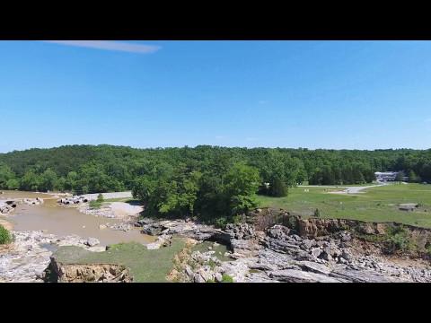 Wappapello 4K Dam Spillway Flood 5/13/17