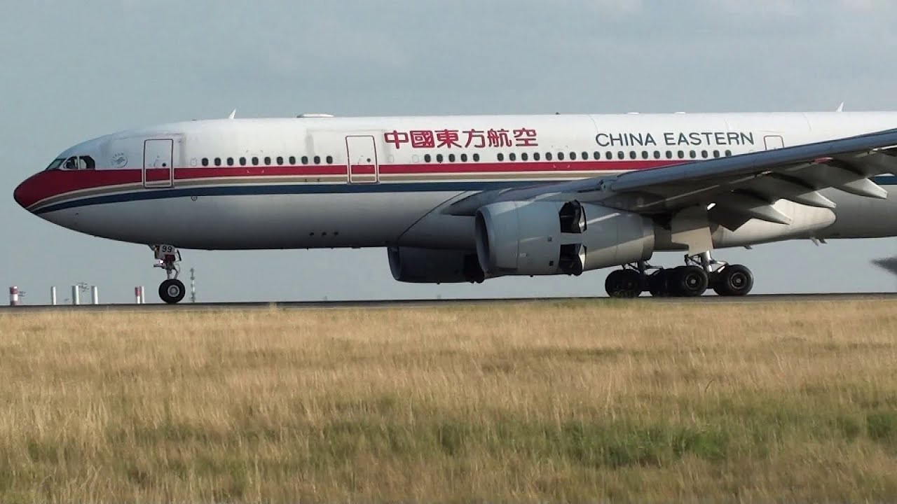 China eastern airlines a330 200 landing 09l at paris roissy cdg lfpg youtube - China eastern airlines vietnam office ...