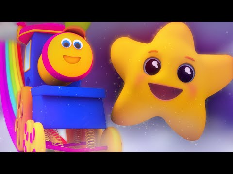 Bob The Train - twinkle twinkle little star | nursery rhymes | kids songs | 3d rhyme