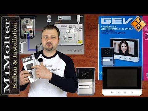 Video Türsprechanlage Sophia 88665 / Einbau und Installation