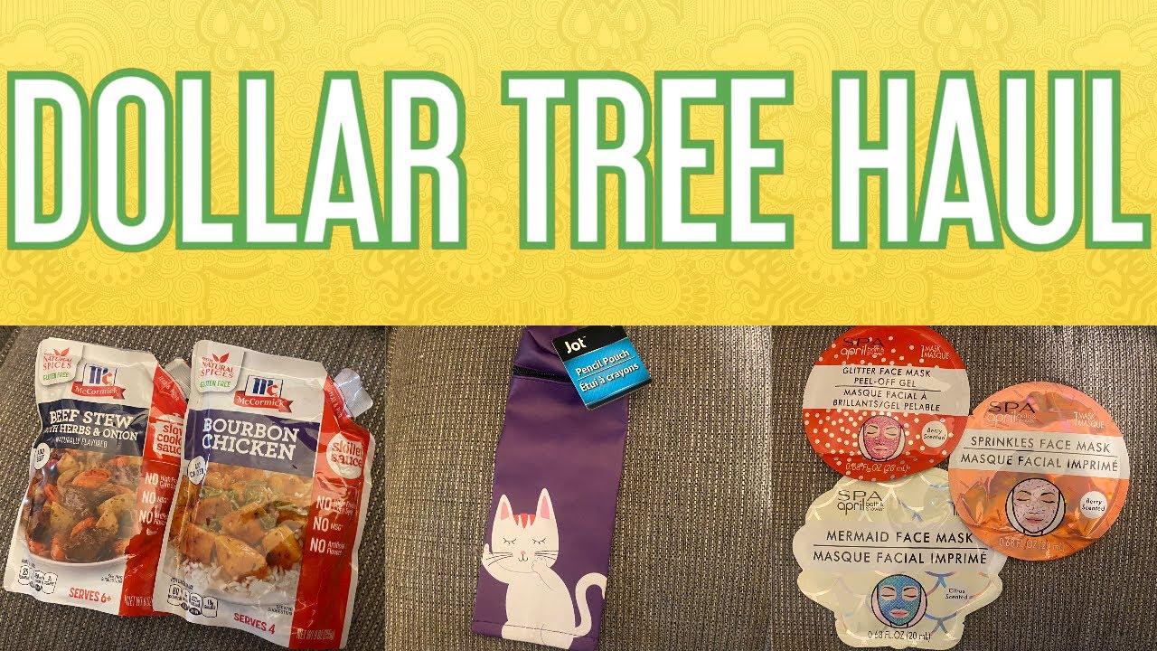DOLLAR TREE HAUL!! Uploaded 7/6/20