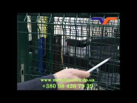 Цена и преимущества калитки из сетки с ПВХ