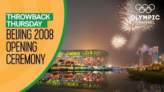 Full Opening Ceremony from Beijing 2008 Throwback Thursday
