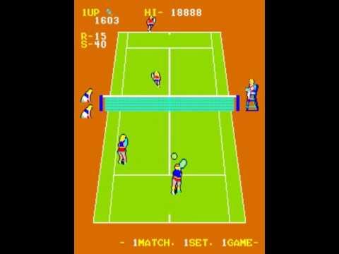 Super Doubles Tennis ~1983 DECO Cassette~ Arcade MAME csdtenis