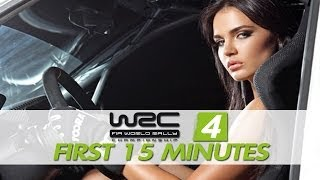 WRC 4 - FIA World Rally Championship: The First 15 Minutes / Gameplay [XBOX360/PS3/PC]