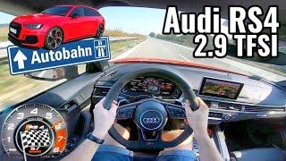 2019 Audi RS4 2.9 TFSI - Ciśniemy DO KOŃCA. V-max.