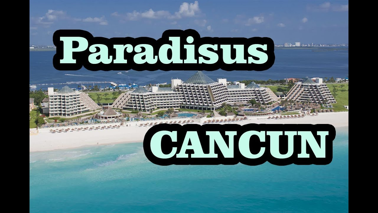 Paradisus Cancun Map Tour Pros Cons Youtube