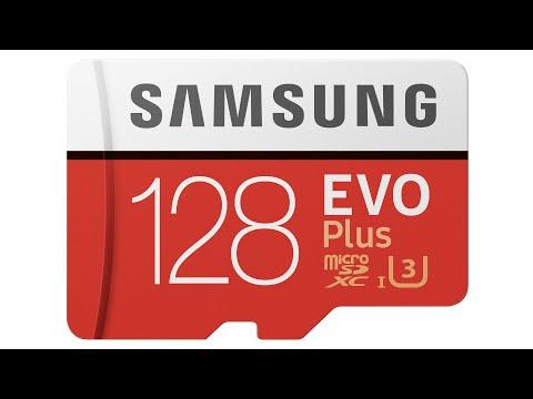 Samsung EVO Plus 128GB MicroSDXC Benchmark Review Testing