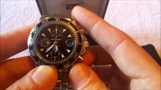MontBlanc Meisterstuck 3273 Automatic Chronograph Watch Review