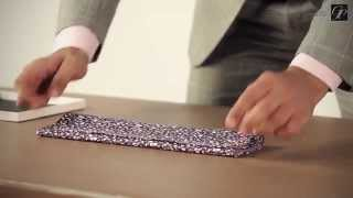 How To Fold a Pocket Square :  5 Easy Folds You Must Know