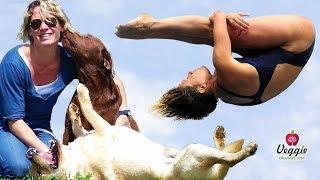 Мария Маркони, прыжки в воду и любовь к животным