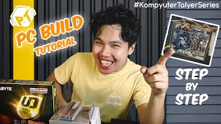 Step by Step AMD Ryzen PC Build Tutorial - Kompyuter Talyer Series for Office Use
