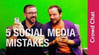 Top Social Media  Crowdfunding Mistakes - Crowd Chats