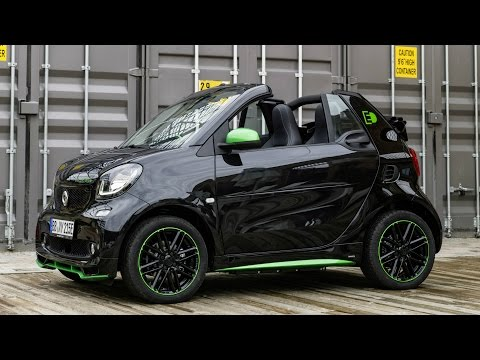 2016 Smart Fortwo Electric Drive Cabrio - Drive and Design