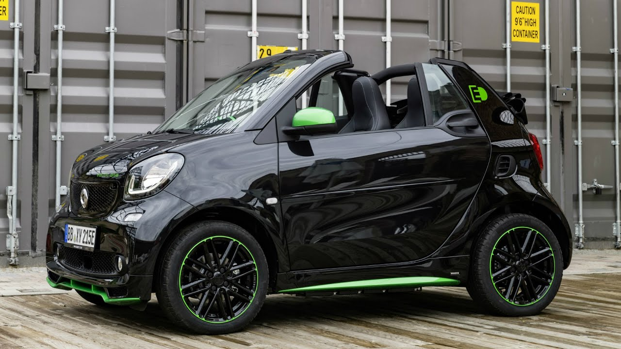2016 smart fortwo electric drive cabrio drive and design youtube. Black Bedroom Furniture Sets. Home Design Ideas