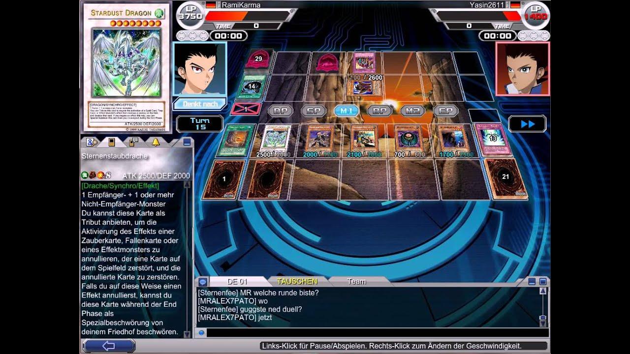 yugioh online deck testing