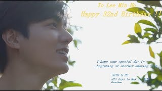Happy 32nd Birthday to Lee Min Ho. 2018/6/22  Rose