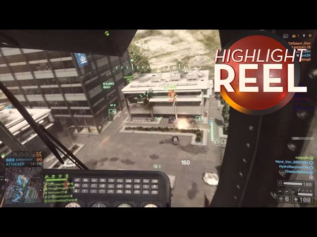 Highlight Reel #49 – A Battlefield Helicopter Master