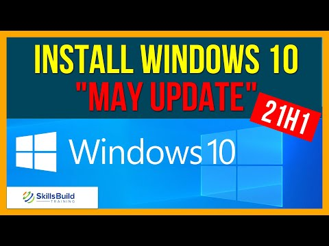 """❗Major Windows 10 """"May Update"""" - How to Install 21H1 Step-by-Step"""